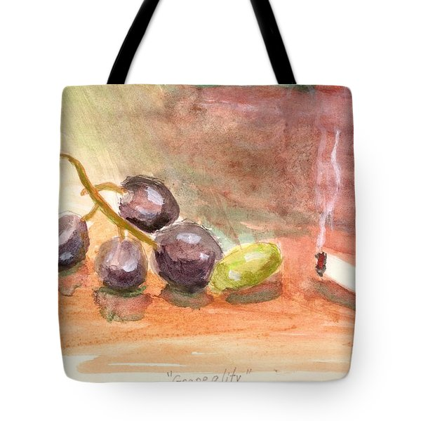 Grapeality Tote Bag