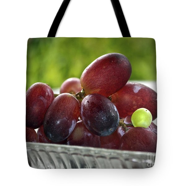 Grapes Tote Bag by Gwyn Newcombe