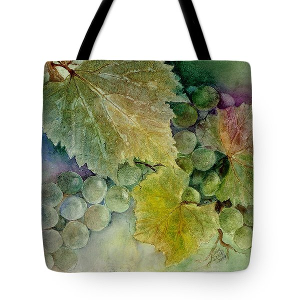 Grapes II Tote Bag by Judy Dodds