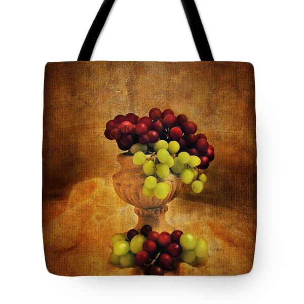 Grapes Tote Bag by Jai Johnson