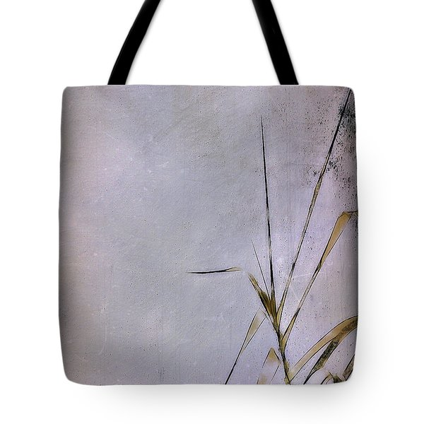 Grass And Wall Tote Bag by Judi Bagwell