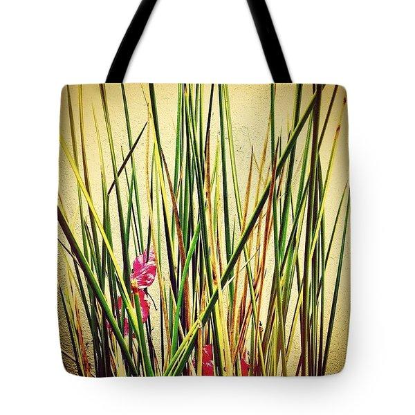 Grasses Tote Bag by Julie Gebhardt