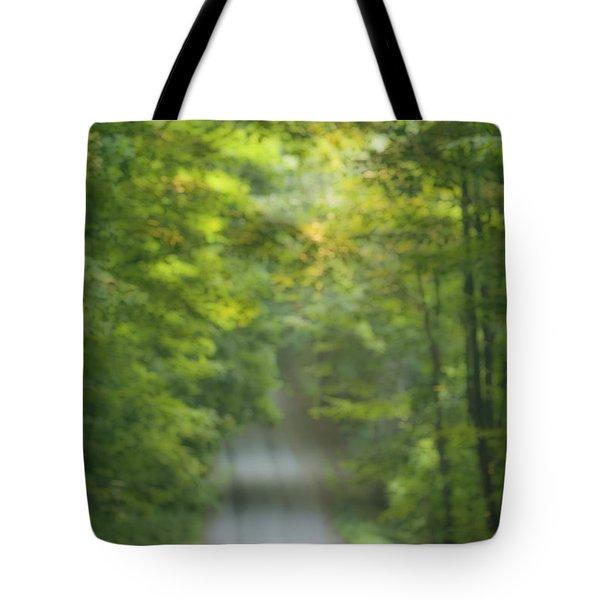 Gravel Road, Niagara Region, Pelham Tote Bag by Darwin Wiggett