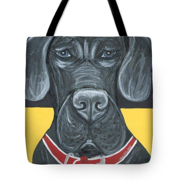 Great Dane Poster Tote Bag