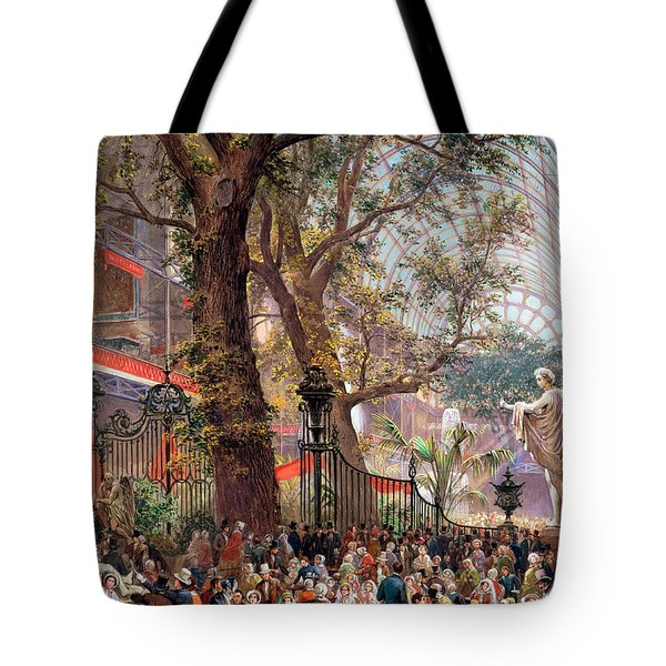 Great Exhibition Tote Bag by Louis Haghe