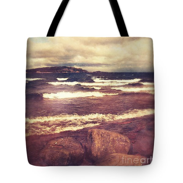 Tote Bag featuring the photograph Great Lakes by Phil Perkins