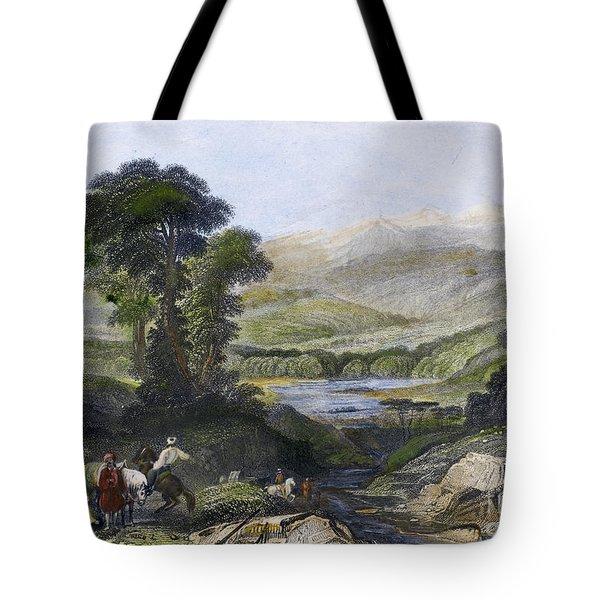 Greece: Mount Olympus Tote Bag by Granger