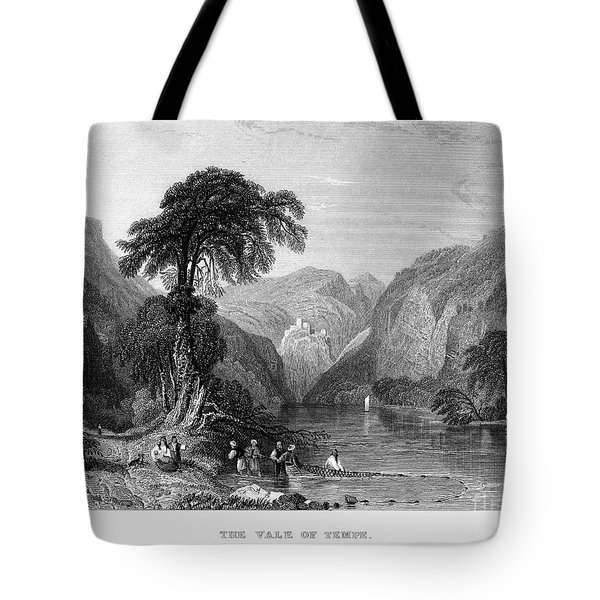 Greece: Vale Of Tempe Tote Bag by Granger