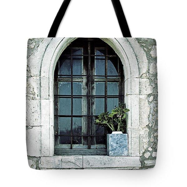 Greek Chapel Tote Bag by Joana Kruse