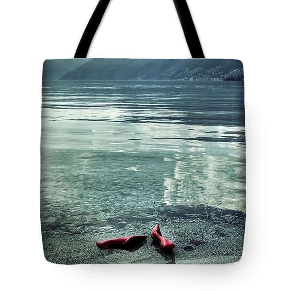 Green And Red Tote Bag by Joana Kruse