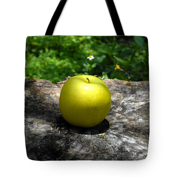Green Apple Tote Bag by David Lee Thompson