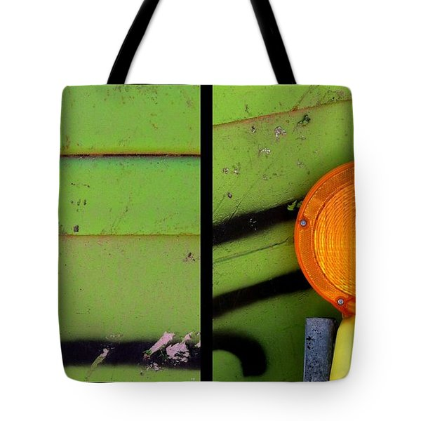 Green Bein' Tote Bag by Marlene Burns