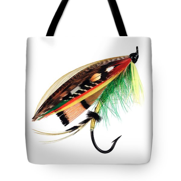 Green Highlander Tote Bag by Mauro Celotti