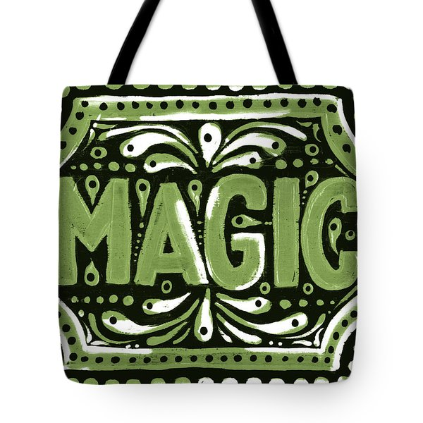 Green Magic Tote Bag