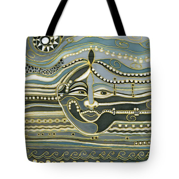 Green Maya Tote Bag by Rachel Hershkovitz