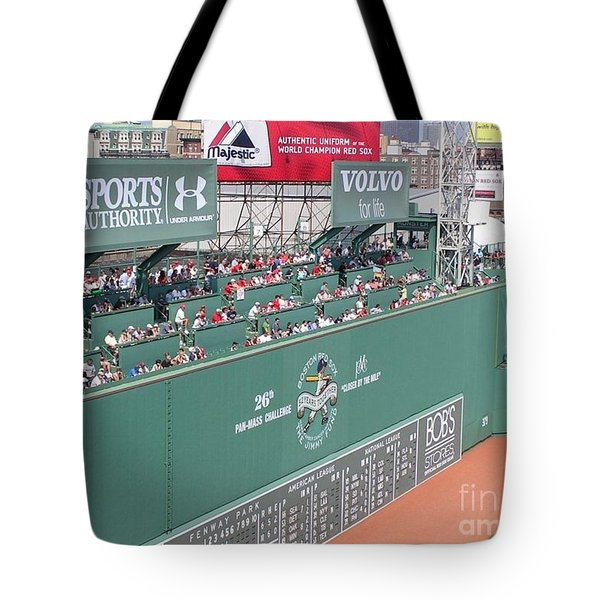 Green Monster Tote Bag by Kevin Fortier