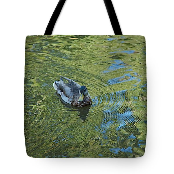 Tote Bag featuring the photograph Green Pool by Joseph Yarbrough