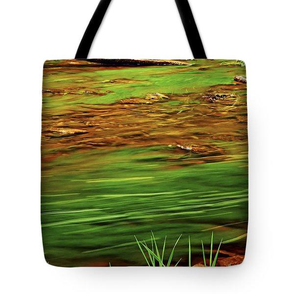Green River Tote Bag by Elena Elisseeva