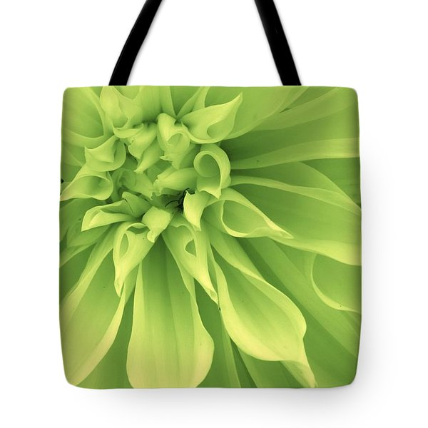 Green Sherbet Tote Bag by Bruce Bley
