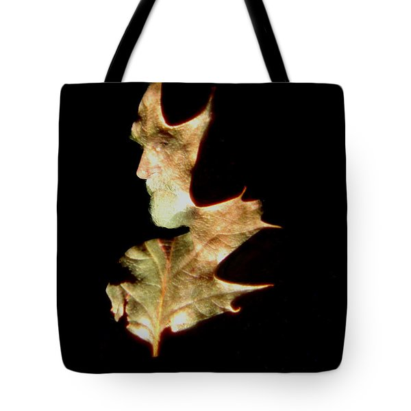 Greenman Tote Bag by Arla Patch