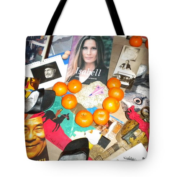 Greeting For The Danish Queen Margaret 15 January 2012home Camp To Egypt Tote Bag by Colette V Hera  Guggenheim