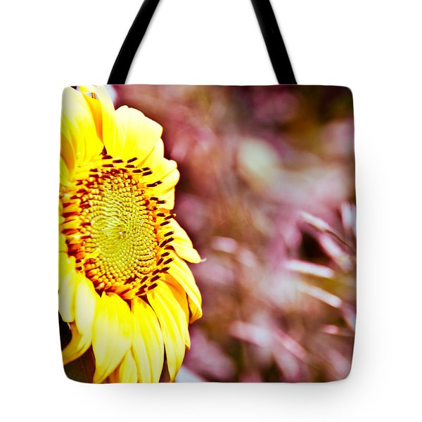 Tote Bag featuring the photograph Greeting The Sun. by Cheryl Baxter
