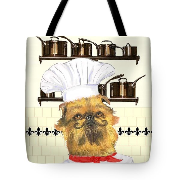 Tote Bag featuring the mixed media Griff by Stephanie Grant
