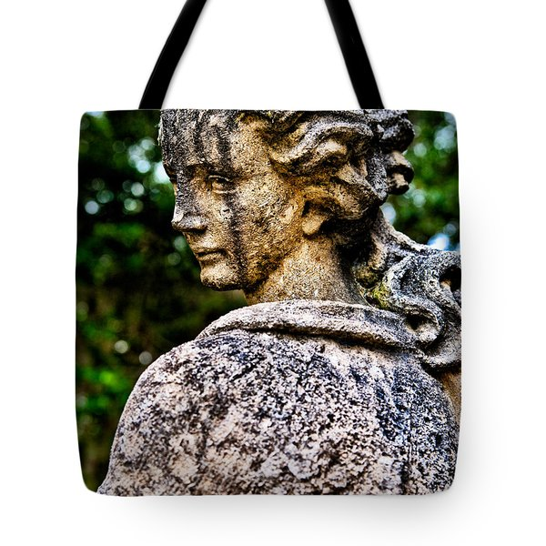 Gritty Profile Tote Bag by Christopher Holmes