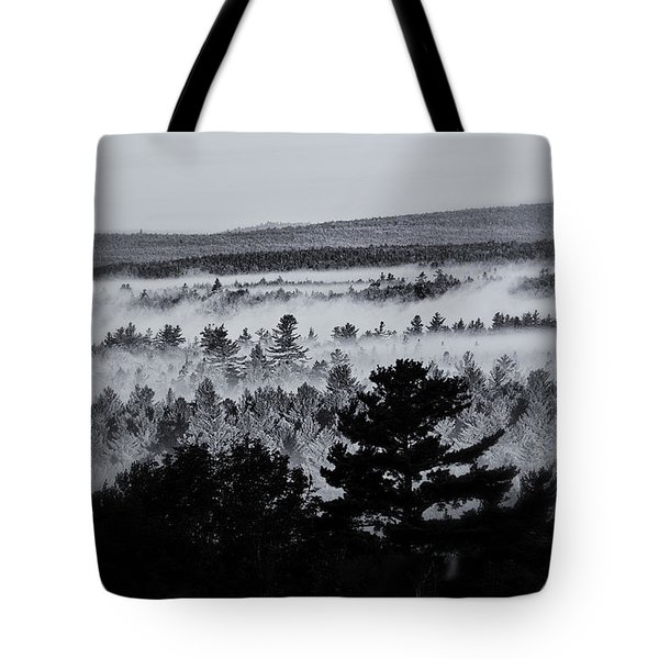 Ground Fog Tote Bag by Susan Capuano