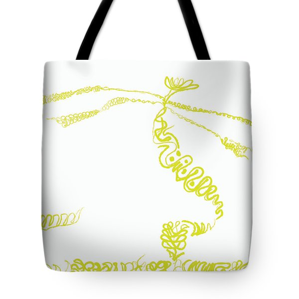 Ground Frond Tote Bag