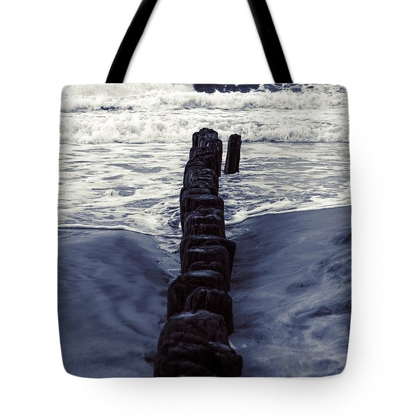 Groyne Tote Bag by Joana Kruse