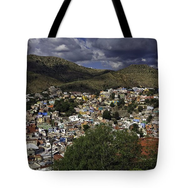 Tote Bag featuring the photograph Guanajuato Vista No. 1 by Lynn Palmer