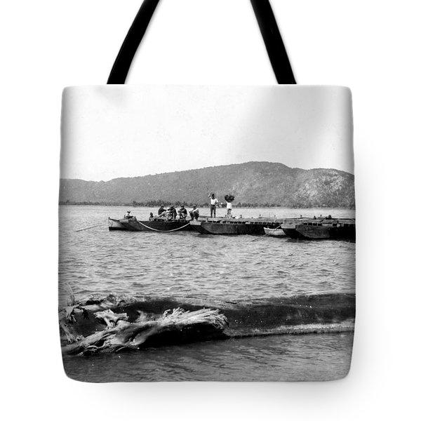 Guanica Harbor - San Juan - Puerto Rico - C 1899 Tote Bag by International  Images