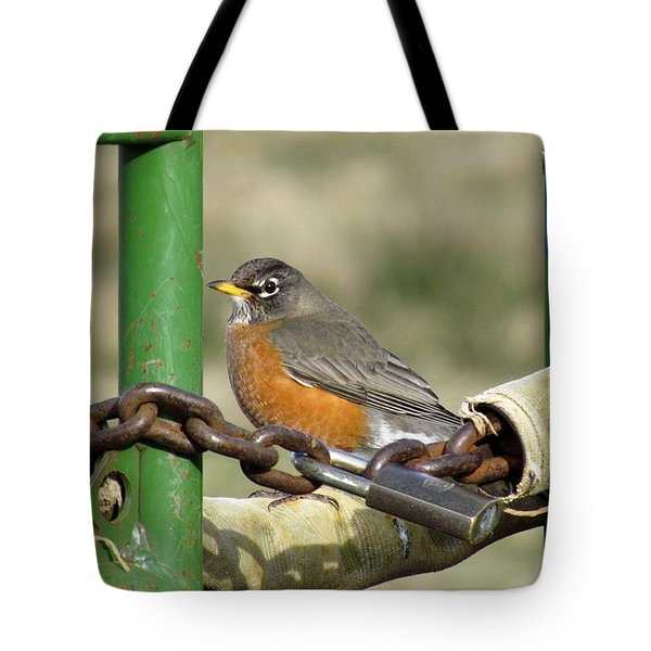 Tote Bag featuring the photograph Guardian Of The Gate by I'ina Van Lawick
