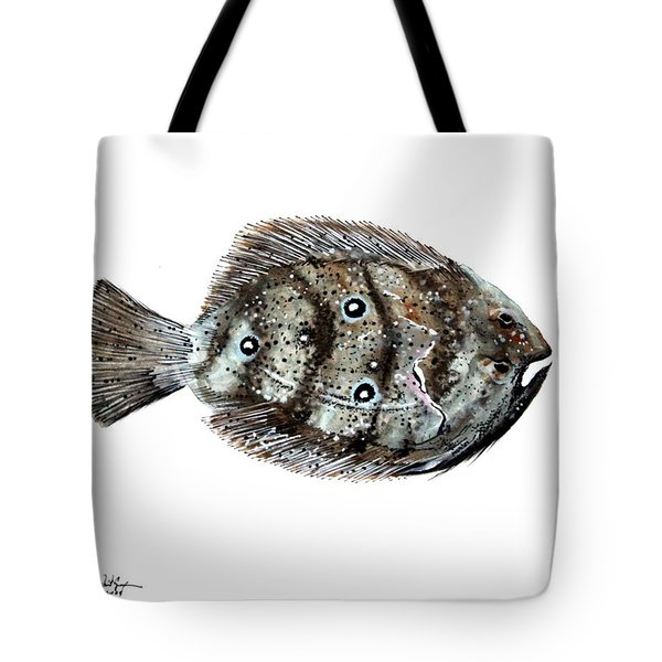 Gulf Flounder Tote Bag