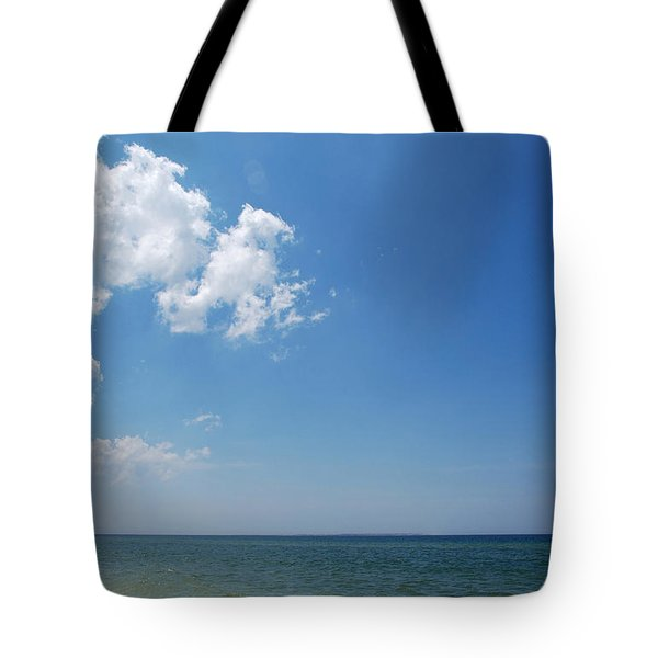 Gulf Sky Tote Bag