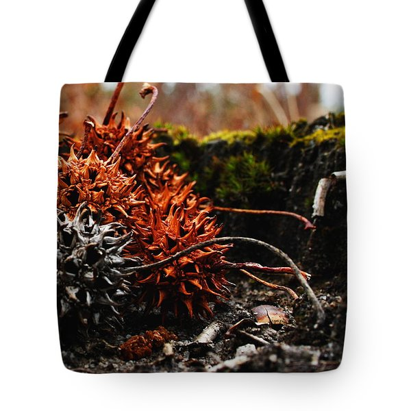 Gumballs Tote Bag by Karen Harrison