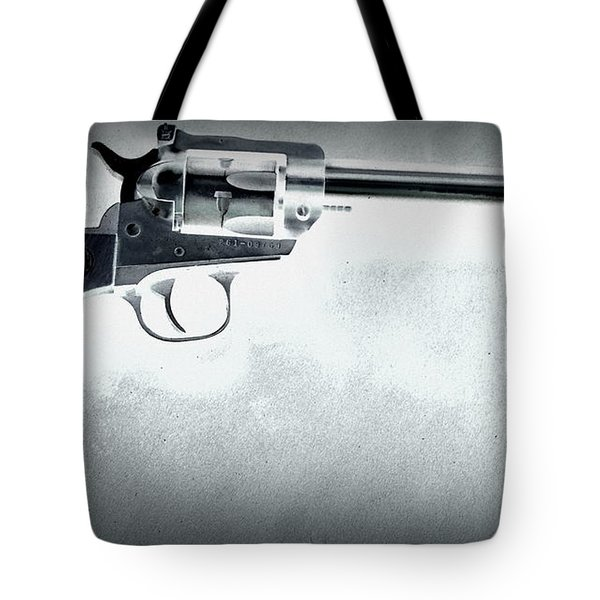 Tote Bag featuring the photograph Guns And Leather 3 by Deniece Platt