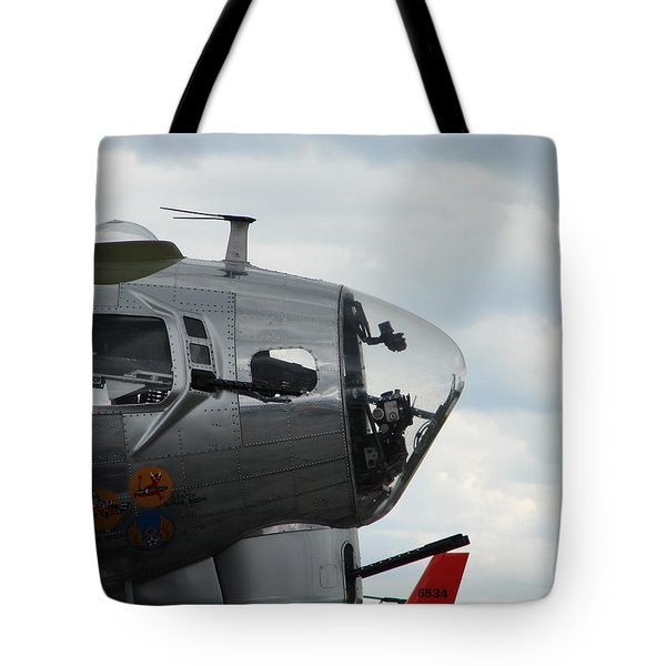 Guns Everywhere Tote Bag by Randy J Heath
