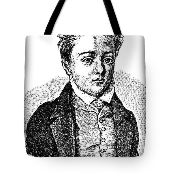 Gustave Flaubert, Age 10, French Author Tote Bag by Photo Researchers