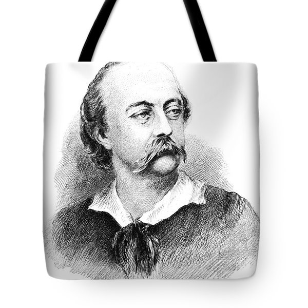 Gustave Flaubert, French Author Tote Bag by Photo Researchers