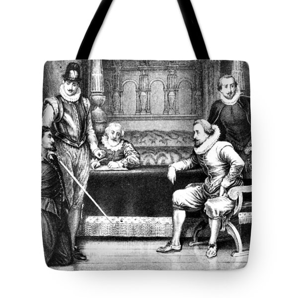 Guy Fawkes, English Soldier Tote Bag by Photo Researchers