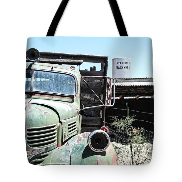 Hackberry Arizona Route 66 Tote Bag