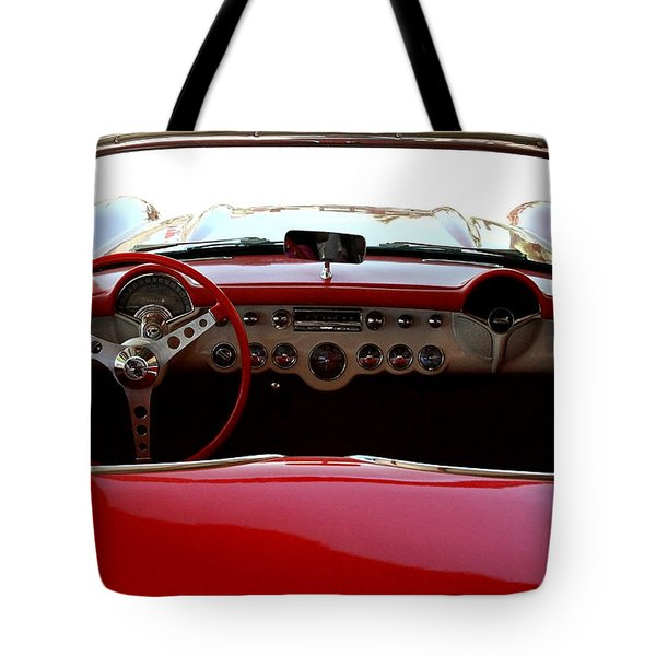 Hackberry Corvette Tote Bag