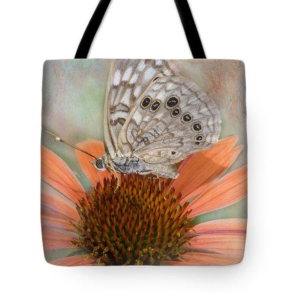 Hackberry Emplorer Butterfly Tote Bag by Betty LaRue