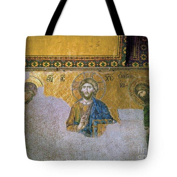 Hagia Sophia: Mosaic Tote Bag by Granger