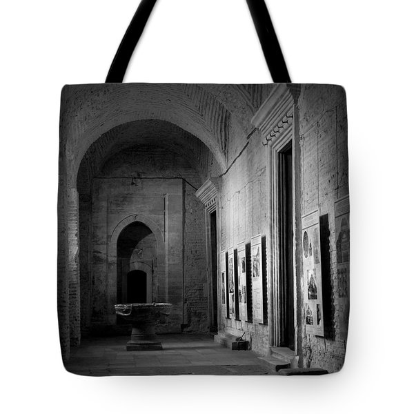Tote Bag featuring the photograph Hagia Sopia by Lisa Parrish