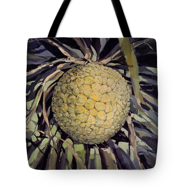 Hala Fruit Tote Bag by Andrew Drozdowicz
