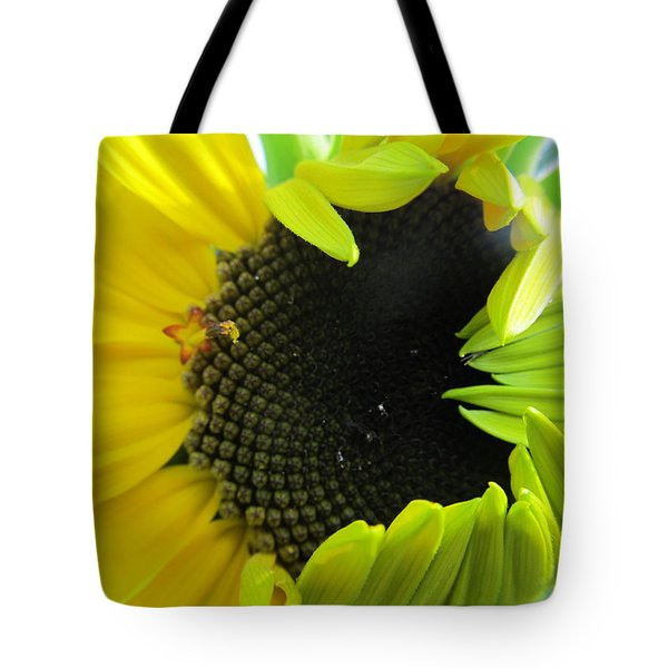 Tote Bag featuring the photograph Half-bloom Beauty by Tina M Wenger