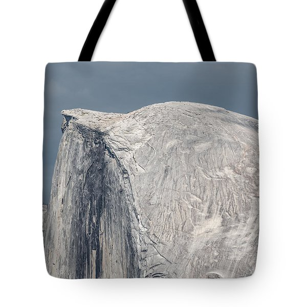 Half Dome From Glacier Point At Yosemite Np Tote Bag by Michael Bessler